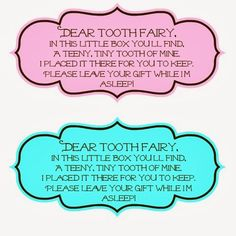 Tooth Fairy Box - Busy Moms Helper