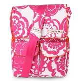 Found it at Wayfair - Be Hip Messenger Diaper Bag in Fuchsia Blossoms