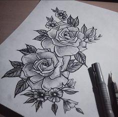 #rose #tatto #tattsketch #flowers #flowertattoo #tat #linework #spbtattoo #graphic #sketch #art