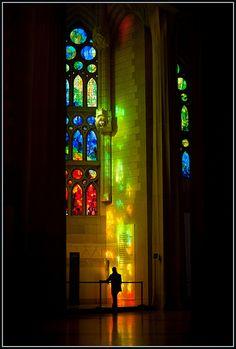 Sagrada Familia | A little part of the fabulous interiour… ∞ Barcelona