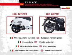 Marmitte Malossi RX Black omologate per maxiscooter: un concentrato di tecnologia! Scopri di più ➠ http://www.malossi.com/marmitte-malossi-rx-black-omologate/