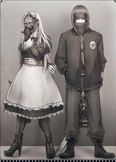 Belarus and America (Hetalia)