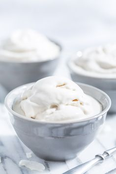 Homemade Coconut Ice Cream | Get Inspired Everyday!