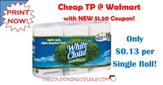 Stock up on CHEAP TP at Walmart! Pay only $0.13 per single roll equivalent with a NEW $1.50 coupon to stack with a rollback! Print your coupon NOW!  Click the link below to get all of the details ► http://www.thecouponingcouple.com/new-1-50-angel-soft-coupon-cheap-tp-walmart/ #Coupons #Couponing #CouponCommunity  Visit us at http://www.thecouponingcouple.com for more great posts!