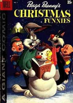 BUGS BUNNY'S CHRISTMAS FUNNIES, DELL COMICS