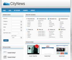 9 Best WordPress Themes images   Wordpress template