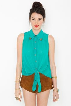 high rider shirt. I love the detailing on the collar. and the color of course. $78.00