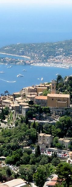 ❇Téa Tosh❇ French Riviera, viewed from the Grande Corniche