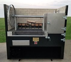 Wood Grill, Bbq Grill, Bbq Rotisserie, Argentine Grill, Fire Cooking, Backyard Bbq, Smokers, Grills, Outdoor Decor