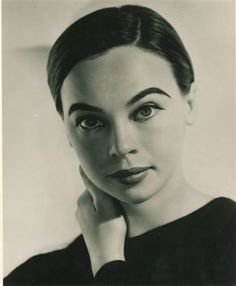 Leslie Caron.  I was once told that I looked like her.  I totally don't but as I LOVE her, it was the BEST compliment I've ever received.