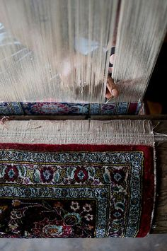 Kashmir carpet weavers I am obsessed with Persian carpets right now, amazing works of art..