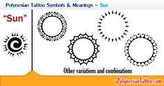 Image from http://www.apolynesiantattoo.com/wp-content/uploads/2013/05/Polynesian-Tattoo-Symbols-Meanings-%E2%80%93-Sun.jpg.