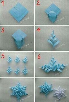 Image about diy in 🌻 Crafts 🌻 by 💜 Sweet Cabello 💜 - Holiday wreaths christmas,Holiday crafts for kids to make,Holiday cookies christmas, Paper Christmas Decorations, Christmas Paper Crafts, Holiday Crafts, Christmas Diy, Holiday Wreaths, Frozen Party Decorations, Snowflake Decorations, Elegant Christmas, Handmade Christmas