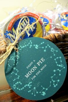 Moon Pies, celestial baby shower, wee creatures