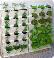vertical garden -- simply terrific repurposing