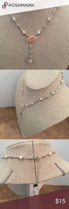 Necklace Sterling silver solid 925 and Perls Necklace Sterling silver solid 925 and Perls Jewelry Necklaces