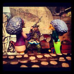 Selma and Patty with Viking boyfriend, aboriginal sticks, boxes and tea set Tea Set, Vikings, Sticks, Green, Instagram Posts, Drama, Boxes, Boyfriend, Photography