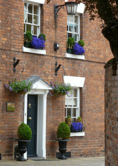 Ireland houses with window boxes - Google Search