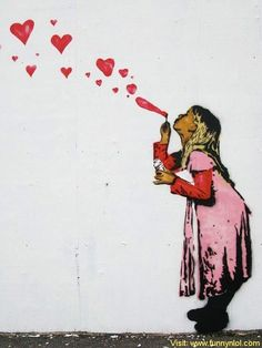 10 Breathtaking Pieces Of Love Street Art by http://www.funnynlol.com/amazing/10-breathtaking-pieces-love-street-art