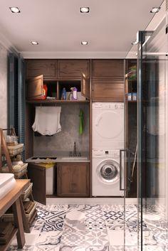 Постирочная / Laundry Room