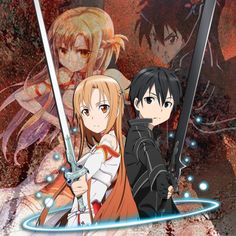 Sword Art Online [Kirito-Asuna] by DarkAnime-OP on deviantART