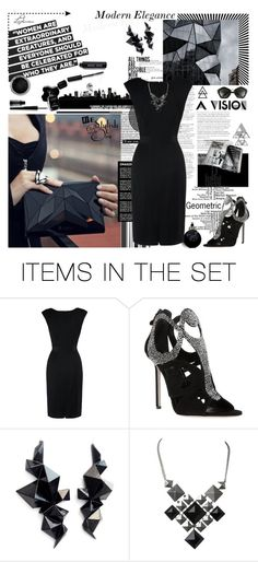 """""""Modern Elegance"""" by ledianaaaaa ❤ liked on Polyvore featuring art and modern"""