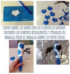 Sello Gatuno para estampar en ropa. Stamp with shape of cat.
