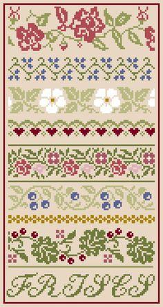 Cross Stitch Boarders, Cat Cross Stitches, Cross Stitch Pillow, Cross Stitch Rose, Cross Stitch Charts, Cross Stitch Designs, Cross Stitching, Cross Stitch Embroidery, Cross Stitch Patterns