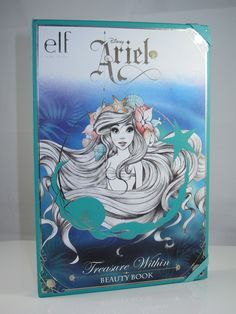 E.L.F. Disney Ariel Treasure Within Beauty Box Palette Review and Swatches.    My god, I WANT!