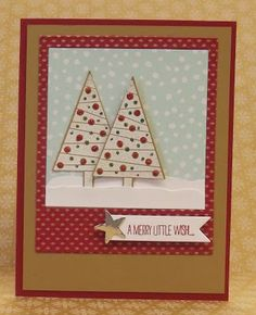 Festival of Trees,Stampin' Up!