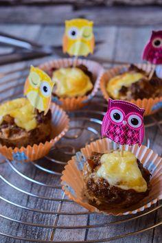 Laugen-Hackfleisch Muffins mit Käse- ein Partykracher