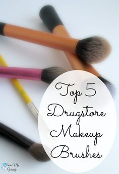 These drugstore makeup brushes are fantastic and perform just as well as highend ones!