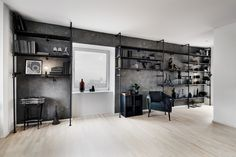 Create your very own walk-in closet with our customizable wardrobe solutions! We offer wardrobes in silver and black waterpipes. Combine it with shelves! Walk In Wardrobe, Wardrobe Design, Interior Styling, Interior Design, Wardrobe Solutions, Long Walls, Industrial Style, Black Friday, Small Spaces