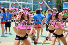 Cheerleading Confessions - - Confessions Open Soon! Cheer Qoutes, Cheerleading Quotes, Gymnastics Quotes, Cheer Stunts, Cheer Dance, Competitive Cheerleading, Cheer Sayings, All Star Cheer, Cheer Mom
