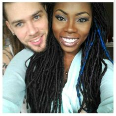 Very beautiful #interracialcouple