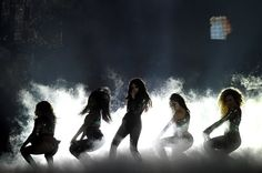 Fifth Harmony performing Work From Home at the #BBMAs