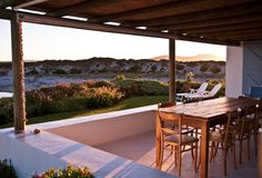Beach Hut in Paternoster - West Coast - South Africa. South Africa Beach, South Afrika, African House, Barn Pictures, Log Cabin Homes, Holiday Apartments, Beautiful Sites, Weekends Away, Beach Holiday