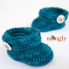 Ravelry: Ups and Downs Toddler Booties pattern by Tamara Kelly
