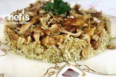 Çerkez Pilavı (mutlaka Deneyin) (videolu) Rice Dishes, Mediterranean Recipes, Good Food, Pasta, Chicken, Dinner, Hotels, Search