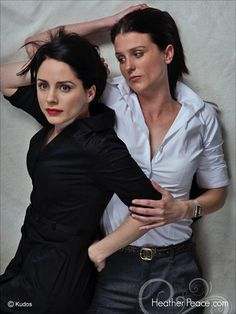 (Laura Fraser and Heather Peace) my choice for sisters as Outlander's Jocasta and Ellen Mackenzie