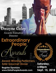 Our incredible multi-Award Winning Artist, Author, Gourmet Pit Master & Songwriter. Executive Director Dwayne S. Coley. Don't miss his performance with TrueMinistry.