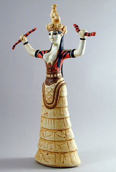 MINOAN SNAKE GODDESS - The Vaults of Time - MAMA Gift Shop ...