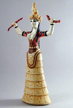 Minoan Snake Goddess Essay Checker - image 2