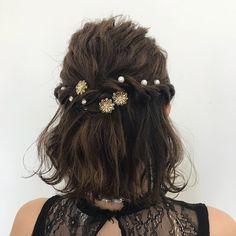 30 Beach Wedding Shoes That Inspire « Loeyy Short Hair Styles Easy, Short Hair Updo, Curly Hair Styles, Fancy Hairstyles, Bride Hairstyles, Teenage Hairstyles, Graduation Hairstyles, Hair Arrange, Hair Setting