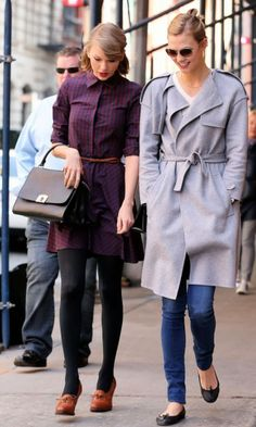 Taylor Swift strolls with Karlie Kloss in NYC