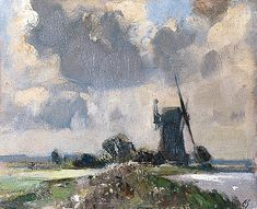 Drainage Mill on the Bure, Norfolk