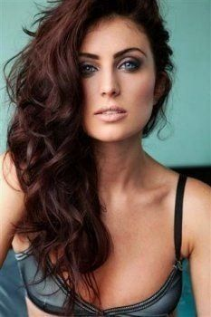 Red brown hair---color