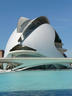 Opera House in Valencia, Spain - Santiago Calatrava.