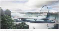 Amanda Levete and Hopkins are among the architects shortlisted to design a new pedestrian and bicycle bridge across London's River Thames Amanda Levete, Hopkins Architects, Architects Journal, Bridge Design, Pedestrian Bridge, London Bridge, River Thames, Design Competitions, Innovation Design