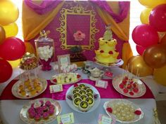Beauty and the Beast Birthday Party Ideas   Photo 4 of 31   Catch My Party